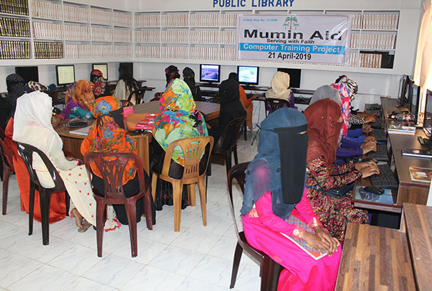 Mumin Aid Educational projects