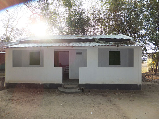 Completed House 2 - Mumid Aid Housing Project