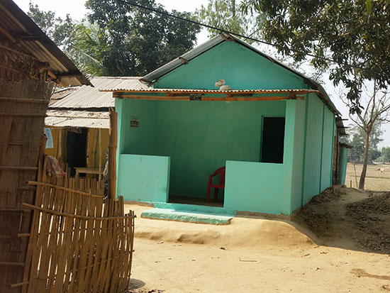Completed House 3 - Mumid Aid Housing Project