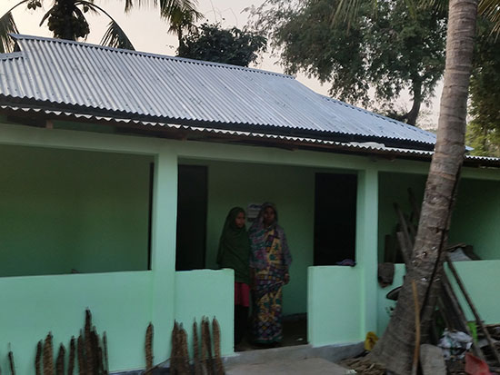 Completed House 4 - Mumid Aid Housing Project